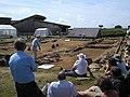 Brading Roman villa excavation of north wing - geograph.org.uk - 1094949.jpg