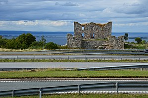European route E4 - Image: Brahehus in Sweden