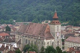 Germans of Romania - Image: Brasov Biserica Neagra