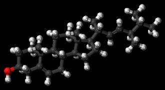Brassicasterol - Image: Brassicasterol molecule ball