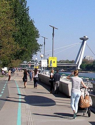 Bratislava Riverfront - Image: Bratislava 12Slovakia 11v