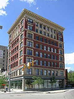 Eight-story building located in Downtown Detroit