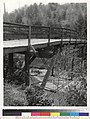 Bridge over south fork of Gualala River, 3 miles east of Stewart's Point. Looking north from south bank. Bridge floor.jpg