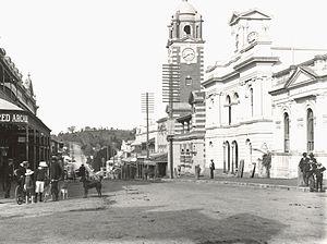 Ipswich, Queensland - Brisbane Street around the start of the 20th century
