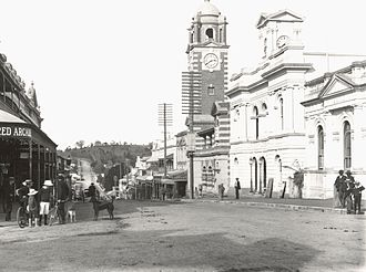 Ipswich, Queensland - Brisbane Street around the start of the 20th century