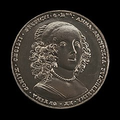 The Maryland Medal: Anne Arundell of Wardour, c. 1610-1649, Countess of the Holy Roman Empire, Wife of Lord Cecil Calvert 1628, Baroness of Baltimore 1632 [reverse]