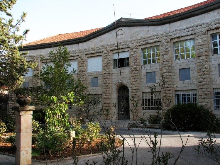 British Mandate tribunal building