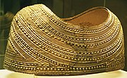 The Mold cape, now in the British Museum