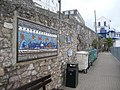 Brixham, a mural of shells - geograph.org.uk - 1464866.jpg