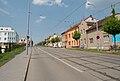 Brno-Řečkovice - Banskobystrická street from south.jpg