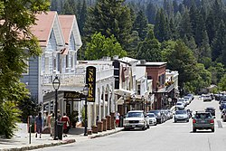 Broad Street Downtown Area in Nevada City, California.jpg