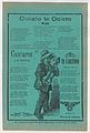 Broadsheet with three love songs; a man singing and playing the guitar MET DP868556.jpg