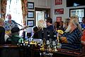 Broadstairs Folk Week bar entertainment at Neptunes Hall pub Broadstairs Kent England.jpg