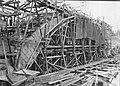 Bron över Flåsjöälven under uppförande 1913.jpg