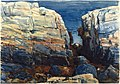 Brooklyn Museum - The Gorge, Appledore - Frederick Childe Hassam - overall.jpg