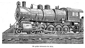 Brooks Locomotive Works - Brooks Locomotive Works locomotive for Great Northern Railway (1899)
