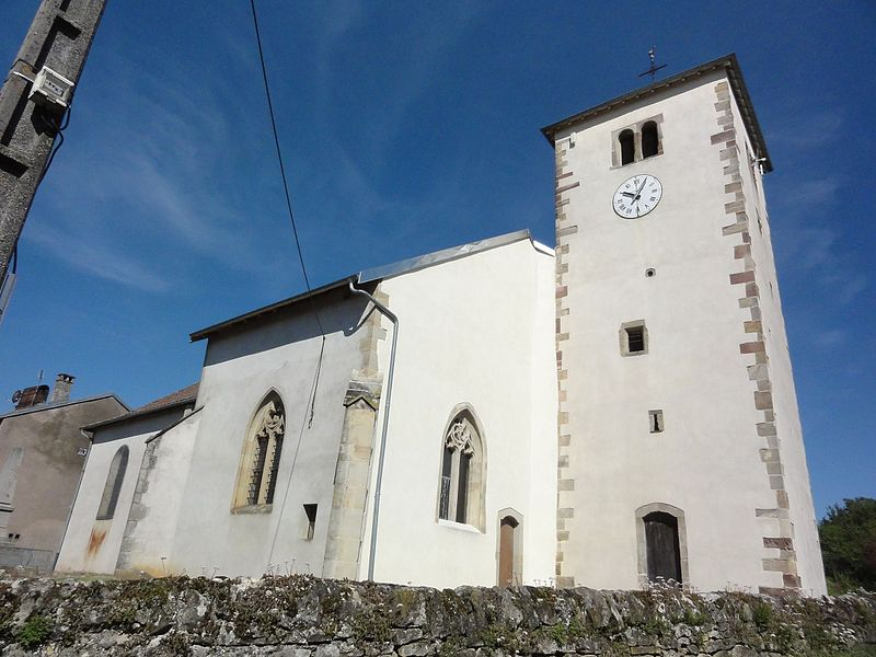 Brouville (M-et-M) église