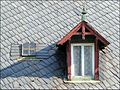 Brtniky, Stare Krecany - detail roof of the house.jpg