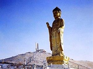 Tibetan Monasticism - The statue of Buddha in Ulaanbaatar, Mongolia
