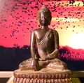 Buddha silent in the flowing time.png