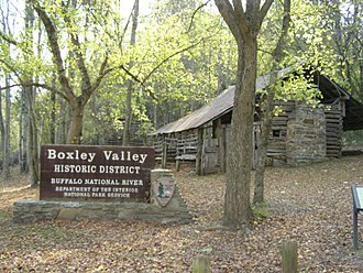 Buffalo National River - Boxley Valley Historic Area, Ponca (Jim Villines Homes)