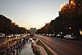Bulevardul Unirii and the Palace of the Parliament - Communist Romania's answer to Paris's Avenue des Champs-Élysées (11321610195).jpg
