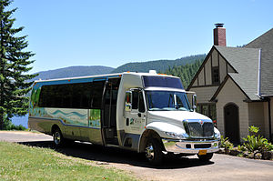 English: The Portland Water Bureau's tour bus ...