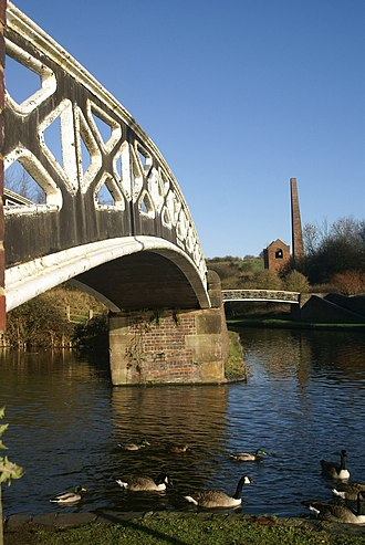Netherton, West Midlands - Bumble Hole Nature Reserve, a former industrial area of Netherton