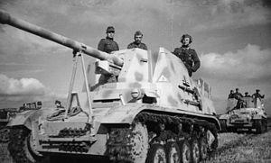 """Marder II - Image: Bundesarchiv Bild 101I 197 1238 16, Russland Mitte, Panzerjäger """"Marder II"""""""