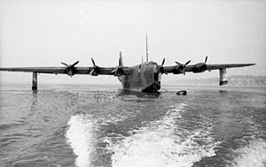 Blohm & Voss BV 238 - The prototype BV 238 V1 in June 1944