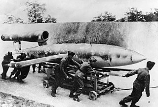 V-1 flying bomb cruise missile