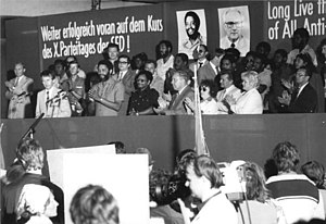 Maurice Bishop - Bishop in Bautzen, East Germany, 1982