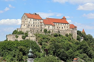 Burghausen Castle - Palas of the Castle of Burghausen