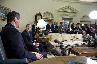 Lee Hsien Loong - Lee visits the United States in July 2005.