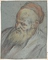 Bust-Length Study of a Bearded Man with Cap in Three-Quarter View MET DP807847.jpg