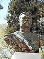 Busto de Porfirio Díaz en Tlaxiaco, Oaxaca, México, 2018.jpg
