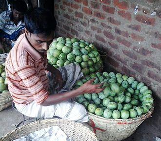 Chapai Nawabganj District - Image: Busy mango seller, rohonpur market, chapainababagonj, Bangladesh