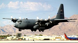 Nevada Air National Guard - Image: C 130 High Rollers Nevada National Guard 70473