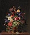 C.D. Fritzsch - En let rørkurv med blomster - KMS272 - Statens Museum for Kunst.jpg