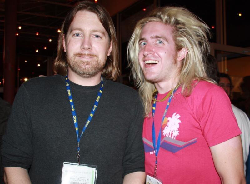 C. Robert Cargill & Ryan Harrison - Fantastic Fest 2009.jpg