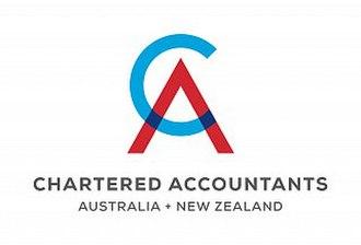 Chartered Accountants Australia and New Zealand - Image: CAANZ logo