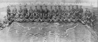 105th Battalion (Prince Edward Island Highlanders), CEF - The 105th Battalion CEF, Camp Valcartier 1916