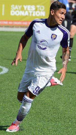 Pierre da Silva - da Silva playing with Orlando City B in 2017