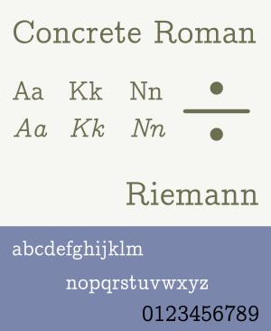 Concrete Roman - Image: CMU Concrete Roman