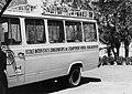 COLLECTIE TROPENMUSEUM De bus van de ingenieursschool 'Ecole d'Ingenieurs (E.I.E.R.) te Ouagadougou TMnr 20010524.jpg