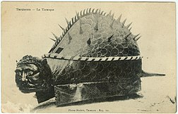 Tarasque of Tarascon, 20th century photo
