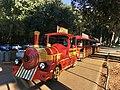 CRO — Istria – Umag (trackless train near Marea Beach Bar) 2020.JPG