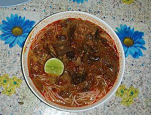 Shan people - Nam ngiao, a Shan dish
