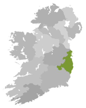 Diocese of Dublin and Glendalough - Diocese Highlighted