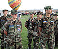 Cadets from the New Mexico Wing of Civil Air Patrol await a briefing.jpg